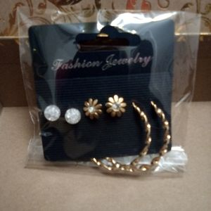 Jewelry - NWT 3 pairs of earrings